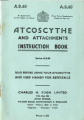 ATCO Autoscythe Instruction Book and Parts List