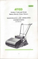 "Atco Battery Electric 20"" (F23) - Owners Manual"