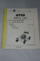 "Atco Parts List for 18""(W8) and 21"" 4-Stroke Push Rotary Models (W9)"