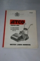 "Atco Parts List for 17"" and 20"" Models (1967-8)"
