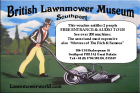 Pre Paid Ticket to the British Lawnmower Museum
