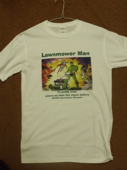 Lawnmowerman T-Shirt <b>(X-Large)</b>